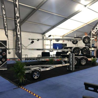 Boat Trailers - Rocket Trailers 3 Miami Boat Show