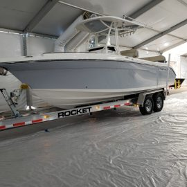 Boat Trailer - Rocket Tandem Axle Boat Trailer