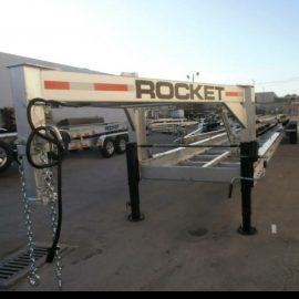Gooseneck Transport Trailer - Rocket Trailers Florida