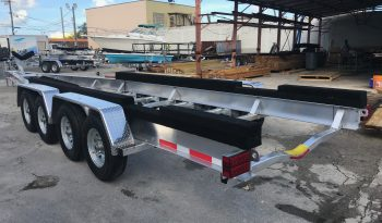 Quad Axle Boat Trailers - Rocket Trailers Florida