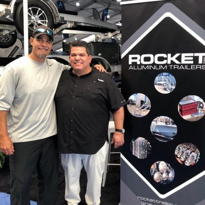 Rocket Trailers at Miami Boat Show