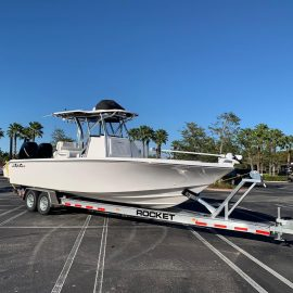 Seahunter boat trailers - Rocket Trailers Florida