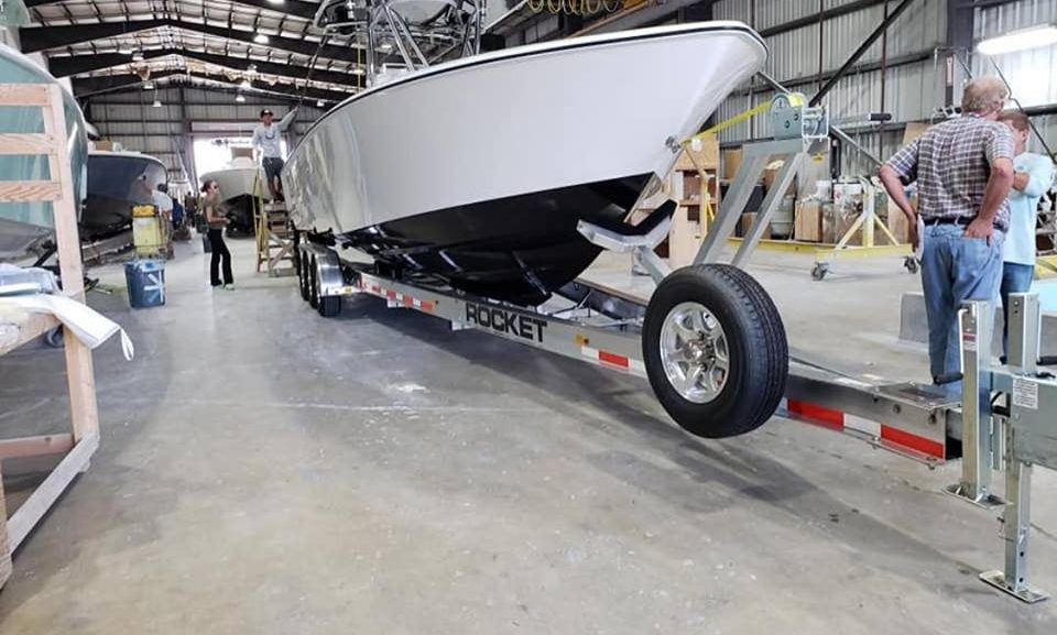 Boat Trailers- Rocket Aluminum Trailers Florida