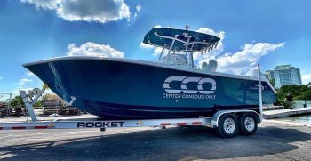 Center Consoles Only - Rocket Boat Boat Trailer