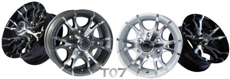t07 boat trailer aluminum wheels